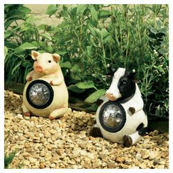 Farmyard Animal Spotlights Pig & Cow