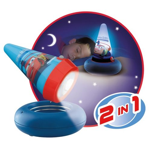 Cars 2 Go Glow Children's Night Light & Torch