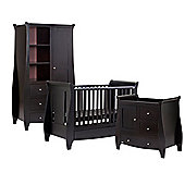 Tutti Bambini Lucas 3 Piece Room Set, Espresso with FREE Home Assembly