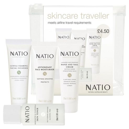 Natio Skincare Traveller Set