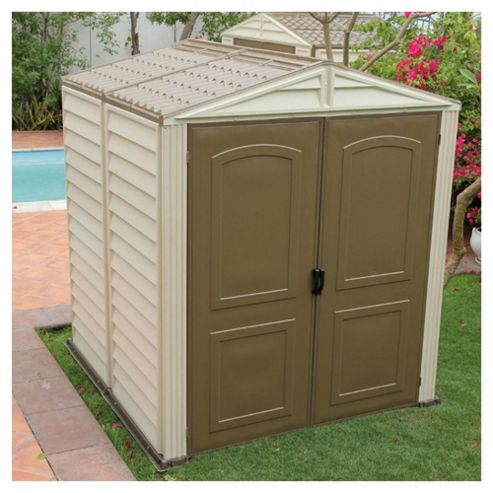 Woodside Vinyl Shed 6x6 with intergral floor