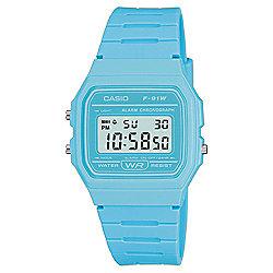 Casio Blue Retro Digital Watch