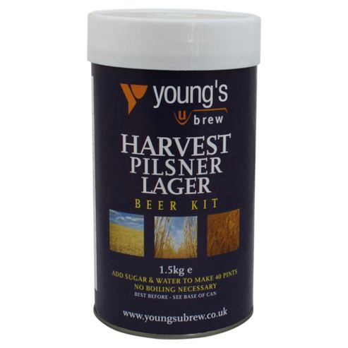 Youngs Harvest Pilsner Kit, 40 pints