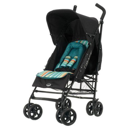 Obaby Atlas V2 Stroller & Footmuff, Turquoise Stripe