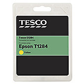 TESCO E1284 Yellow Printer Ink Cartridge (Compatible with printers using Epson T1284 Cartridge)
