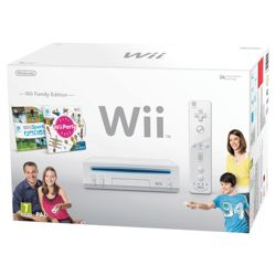 Wii Family Bundle - Wii Console with Wii Sports and Wii Party