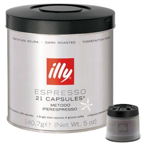 Illy espresso dark roast capsules