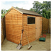 Mercia 8x6 Overlap Reverse Apex Shed
