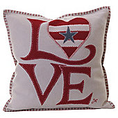 Jan Constantine Usa Fab Love Cushion