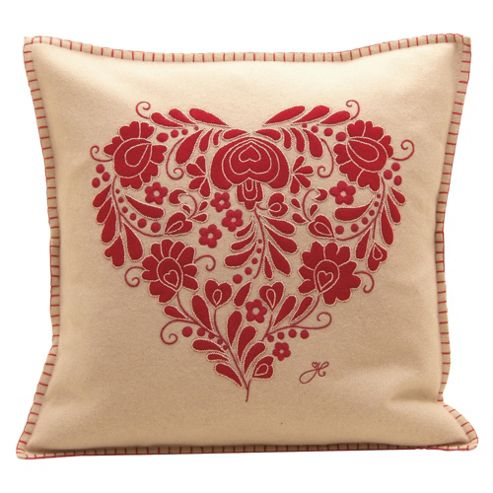 Jan Constantine Romany Heart Cushion