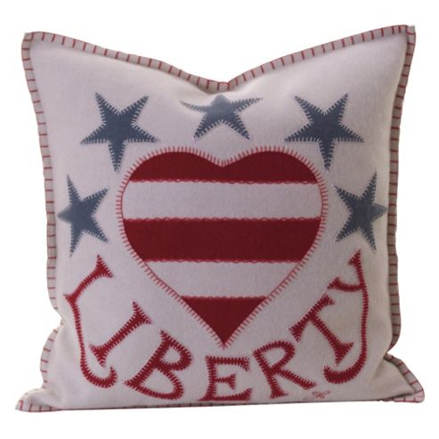 Jan Constantine Liberty Star Cushion