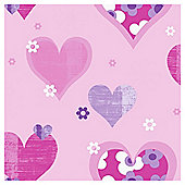 Arthouse Happy Hearts Pink