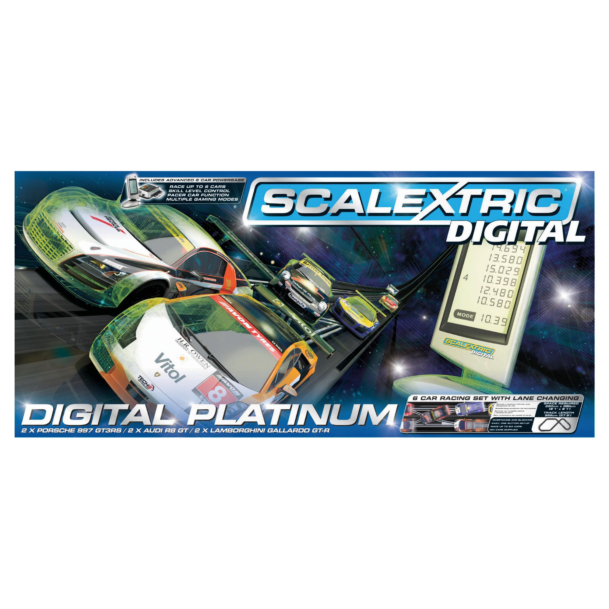 Scalextric C1276 Digital Platinum 1:32 Scale Race Set at Tesco Direct