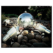 Cole & Bright Stainless Steel Spot Lights