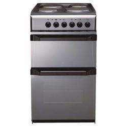 Indesit IT50EM moonstone twin electric cooker