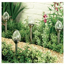 Crackle Flame Lights 4pk