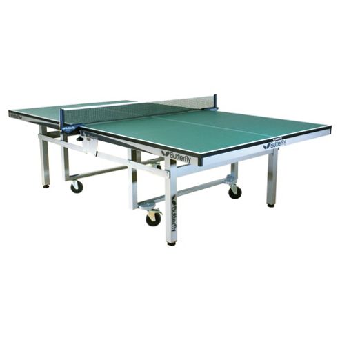 Butterfly Centrefold Rollaway Table Tennis Table - Green