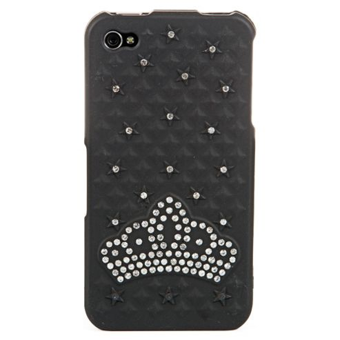 Bliss Hard Case iPhone 4/4S Black Crown