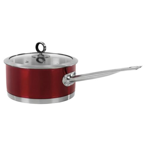 Morphy Richards 46321 Saucepan 18Cm Red