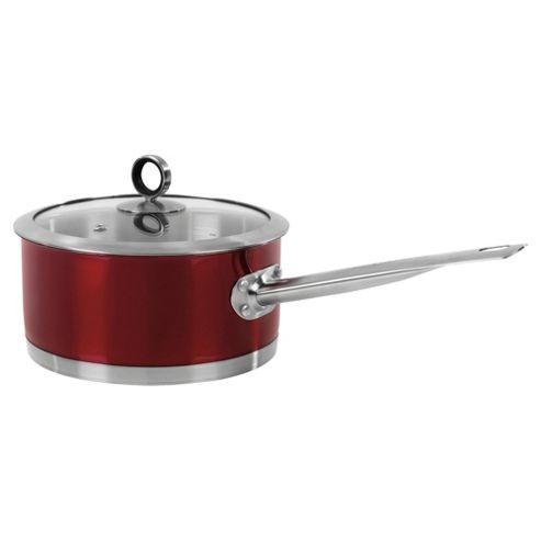 Morphy Richards 46321 Saucepan 18Cm Red