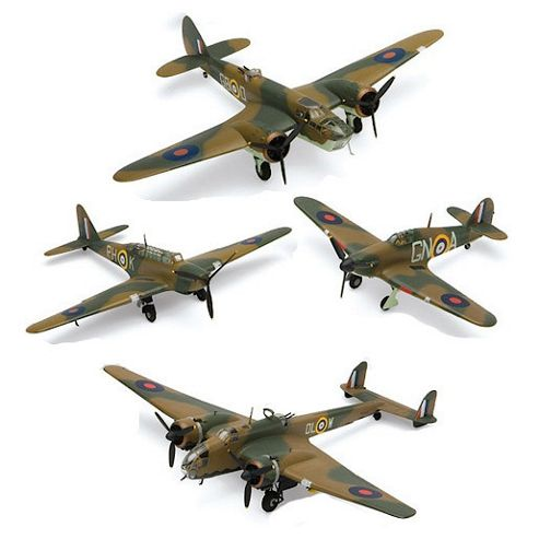 Airfix A50129 Victoria Cross Collection 1:72 Scale Military Aircraft Gift Set Including Paint Glue & Brushes
