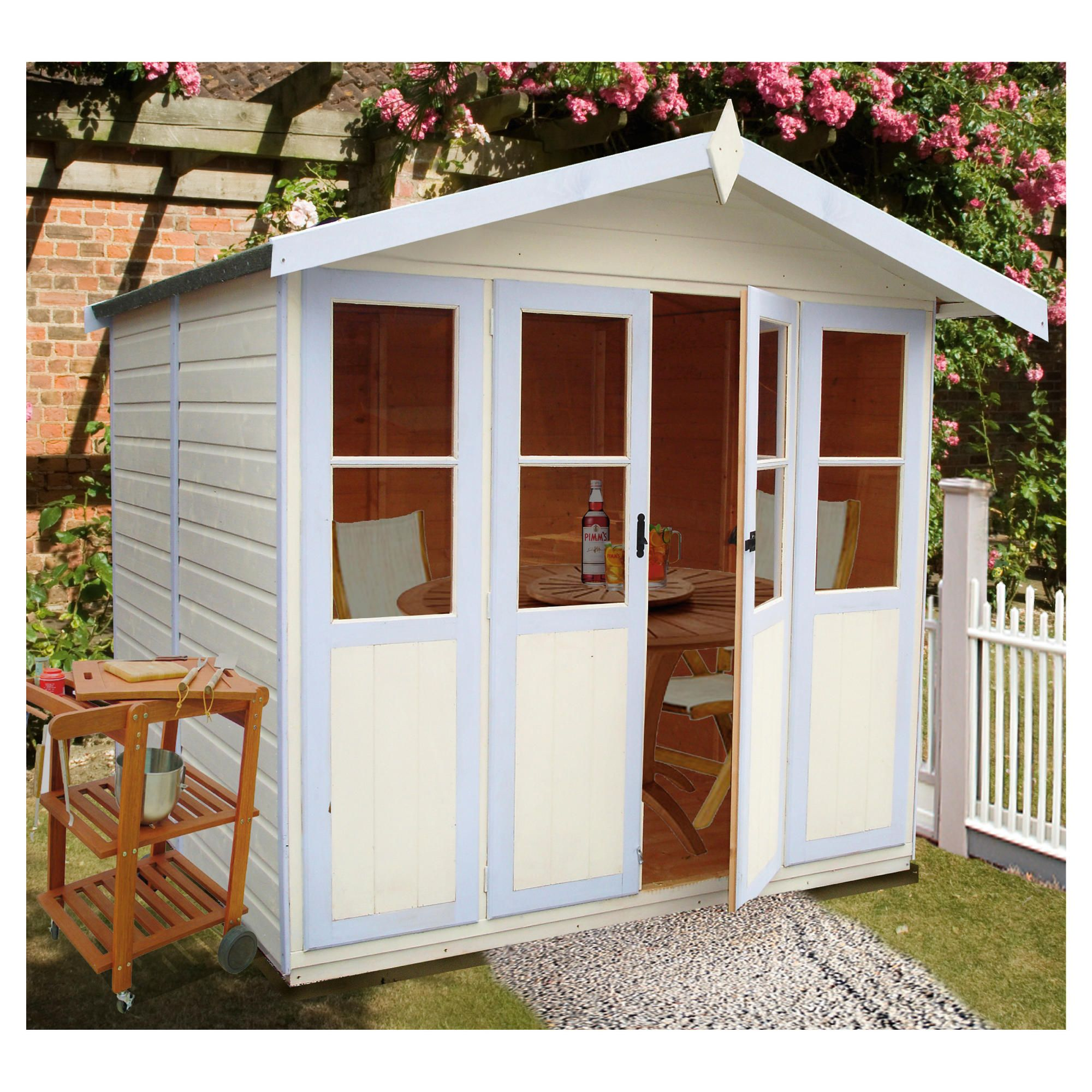 Finewood Haddon 7x5 Summerhouse with Installation at Tesco Direct