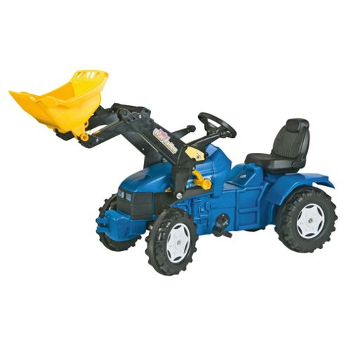New Holland TM 175 Ride-On Tractor & Rolly Trac Loader