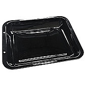 Tesco 38x30cm Vitreous Enamel Deep Roasting Pan