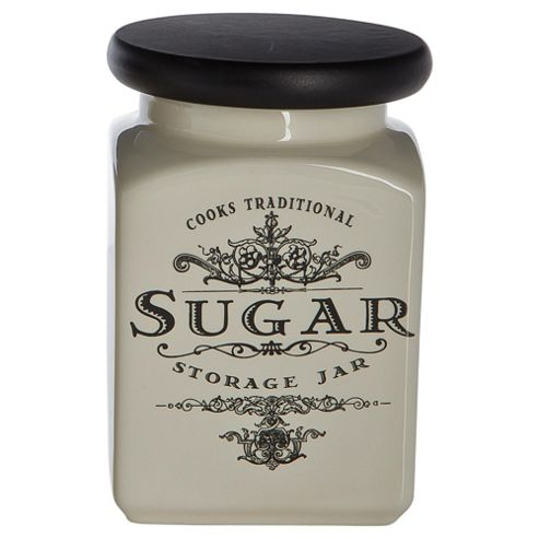 Tesco Cooks Traditional Sugar Canister