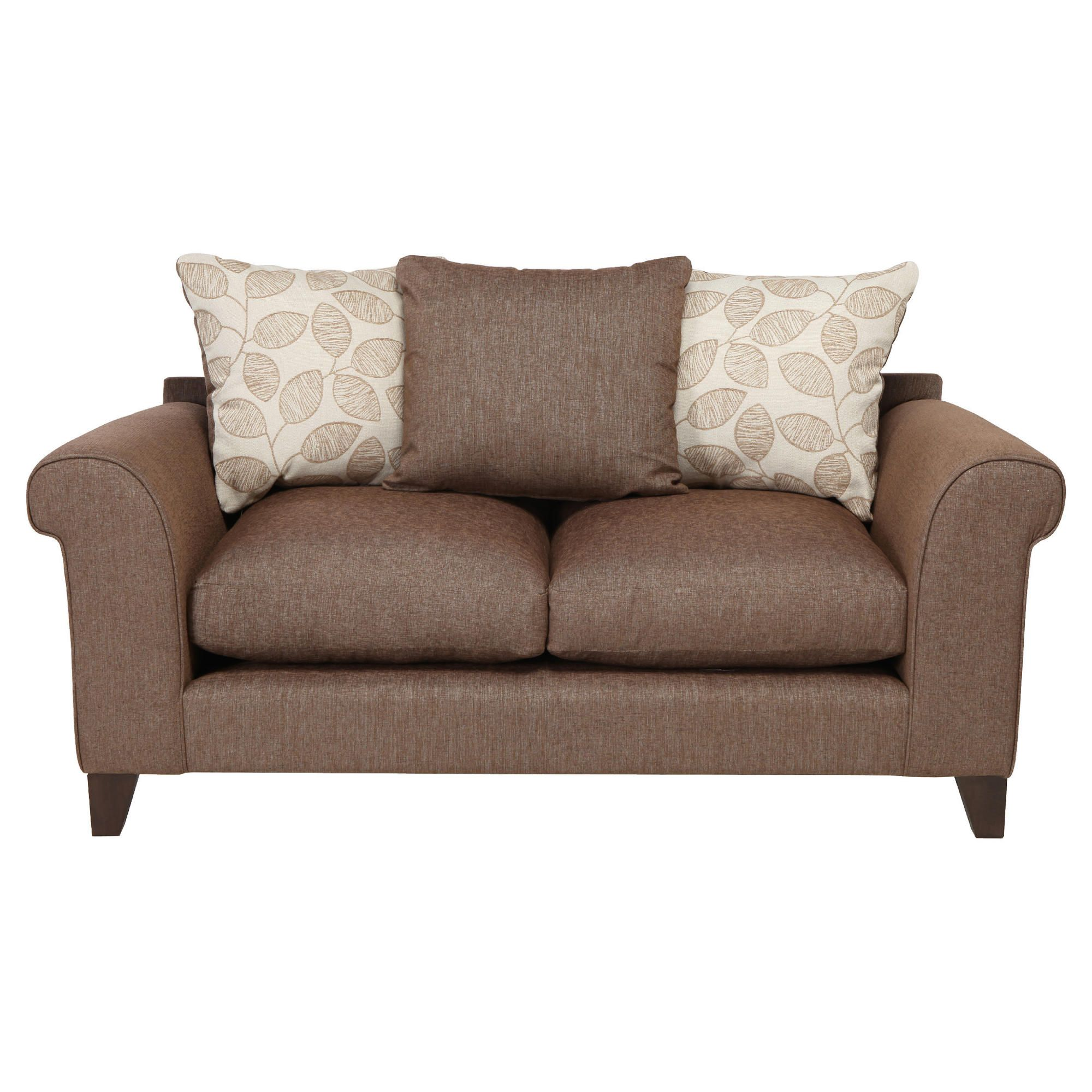 Amersham Small Scatter Back Sofa Mocha at Tesco Direct