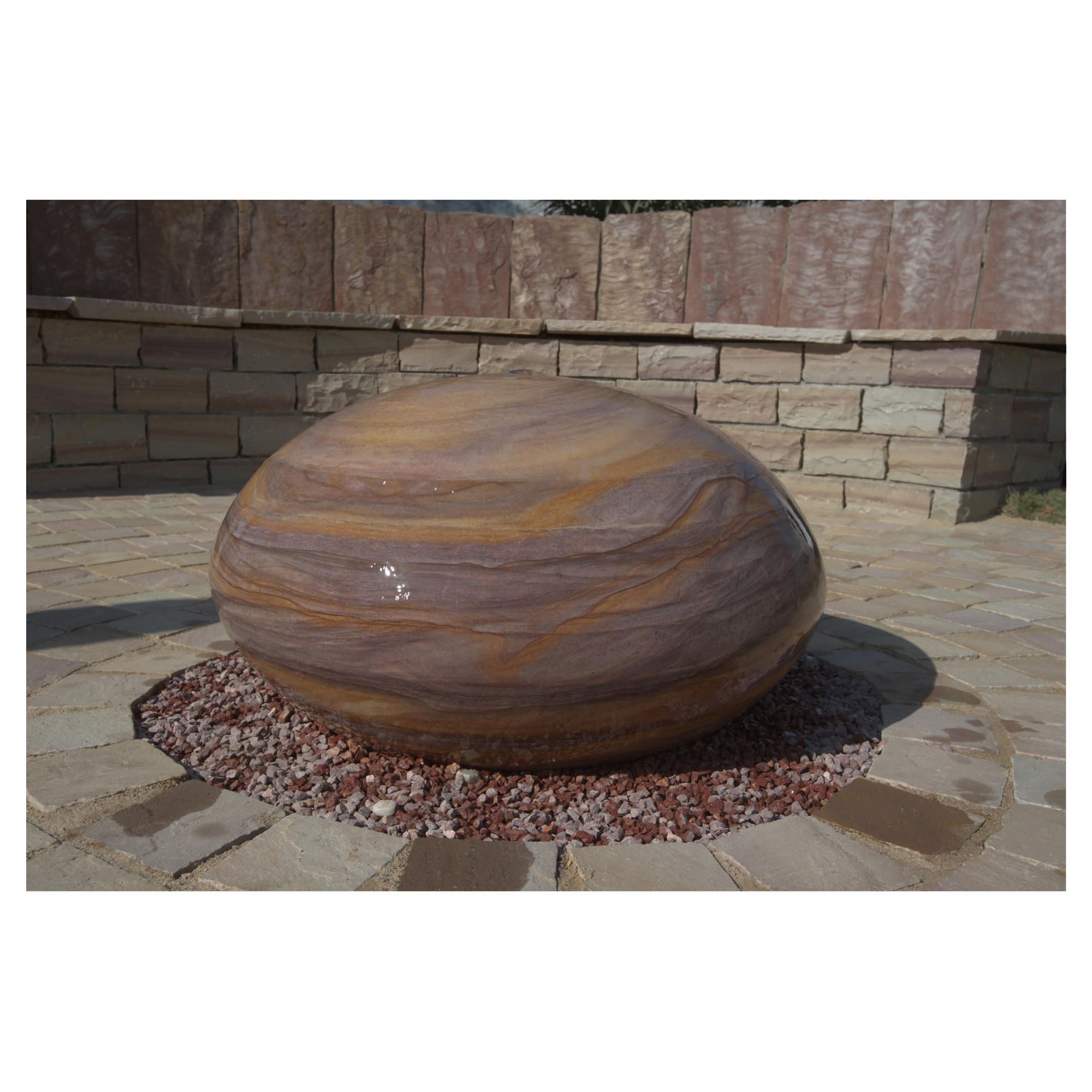 Scutella Rainbow Stone Water Feature 60cm at Tesco Direct