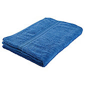 Tesco Hand Towel Royal Blue
