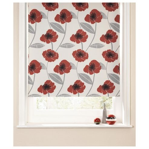 Poppy Roller Blind 180x160cm Red