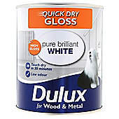 Dulux Quick Dry Gloss Pbw 750ml