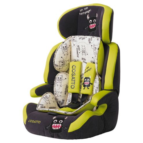 Cosatto Zoomi Car Seat Group 123, Little Monster