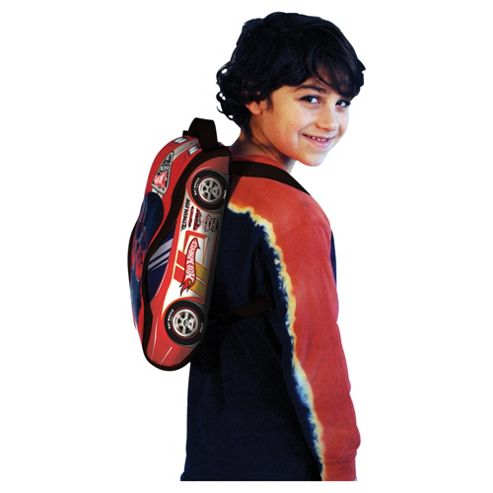 Hot Wheels Patch Back Pack Red