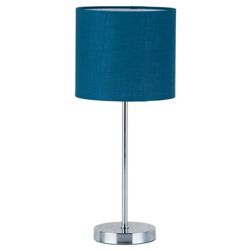 Tesco Lighting Matchstick table lamp teal