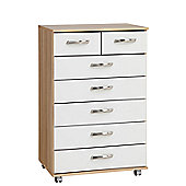 Ideal Furniture Regal 7 Drawer Chest
