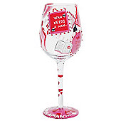 Lolita Wine Glass - Who needs a man