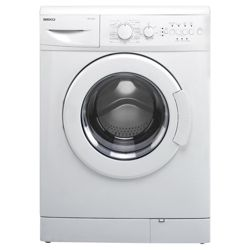 Beko WM6133W Washing Machine, 6kg Wash Load, 1300 RPM Spin, A Energy Rating. White