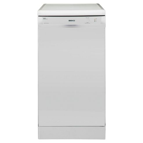 Beko DSFS1531W Free-standing Slimline Dishwasher, A Energy Rating. White