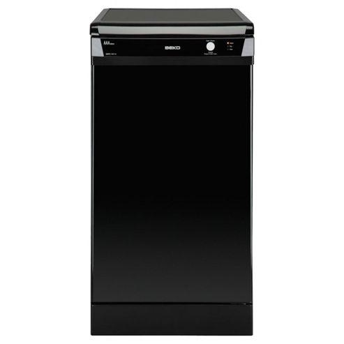 Beko DSFS1531B Slimline Dishwasher, A Energy Rating. Black