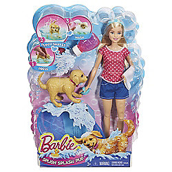 Barbie Shake N Splash Pup