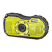 Ricoh Optio WG-4 Camera Yellow 16MP 4xZoom 3.0LCD FHD Wtprf 14m