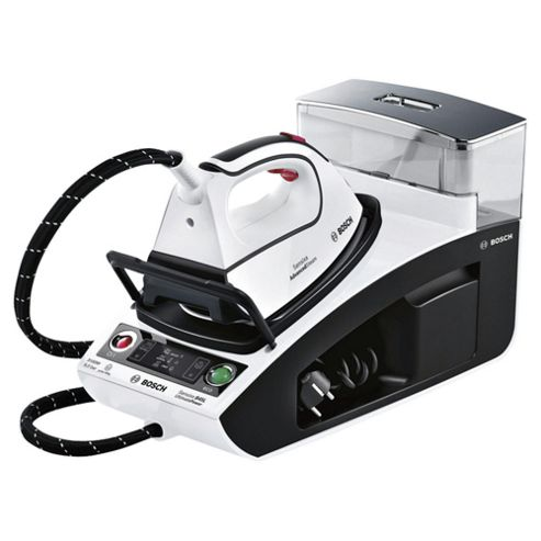 Bosch TDS4571GB Palladium Plate Steam Generator Iron - White & Black