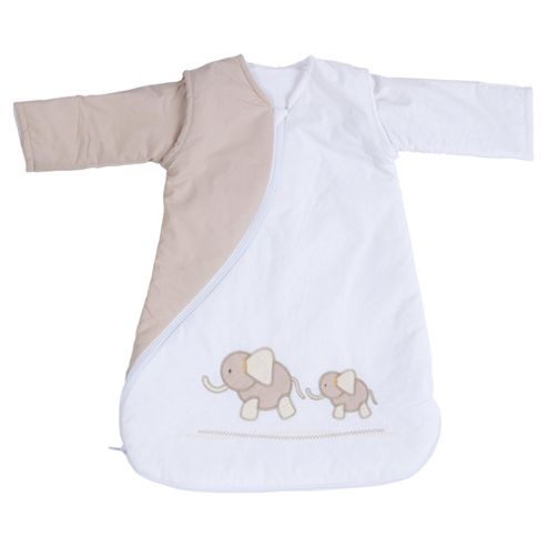 PurFlo Baby 2.5 tog SleepSac 0-3 Months, Elephant Natural