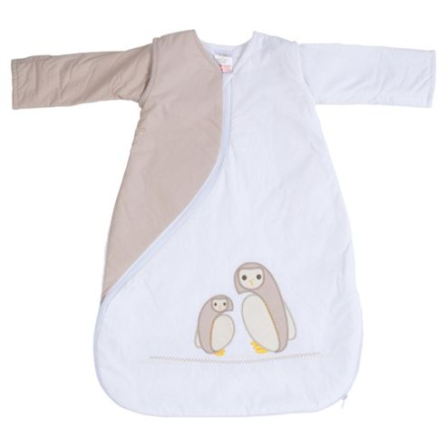 PurFlo Baby 2.5 Tog SleepSac, 3-9 Months, Owl Natural