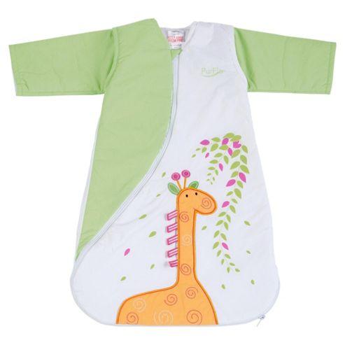 PurFlo 2.5 Tog Travel Baby SleepSac 0-3 Months, Giraffe