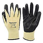 Silverline Kevlar Mix Nitrile Gloves Large