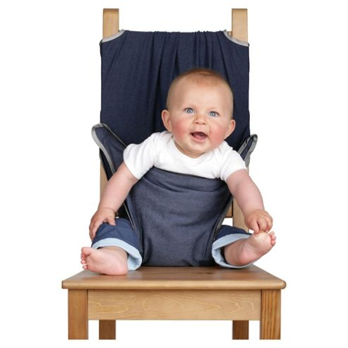 Totseat Travel Highchair, Denim Blue